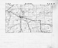 Barre Township, Barre Mills, Bostwick Creek, La Crosse County 1954